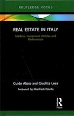 Real Estate in Italy (Routledge International Real Estate Markets Series)