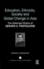 Education, Ethnicity, Society and Global Change in Asia