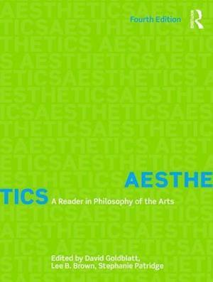 Bog, paperback Aesthetics af David Goldblatt