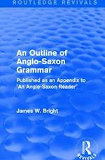 : An Outline of Anglo-Saxon Grammar (1936)