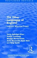 The Other Languages of England (1985) (Routledge Revivals Language Education and Society Series, nr. 2)