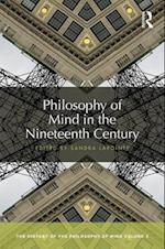 Philosophy of Mind in the Nineteenth Century