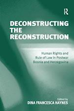 Deconstructing the Reconstruction
