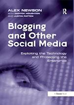 Blogging and Other Social Media af Alex Newson