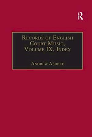 Bog, paperback Records of English Court Music af Andrew Ashbee