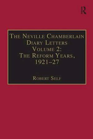 Bog, paperback The Neville Chamberlain Diary Letters af Robert Self