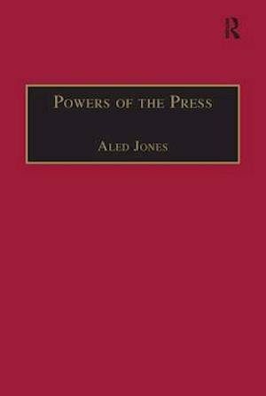 Bog, paperback Powers of the Press af Aled Jones