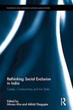 Rethinking Social Exclusion in India (Routledge New Horizons in South Asian Studies)