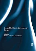 Jewish Identities in Contemporary Europe