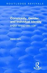 : Community, Gender, and Individual Identity (1988) (Routledge Revivals)