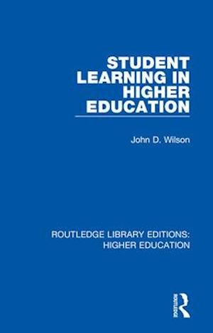 Student Learning in Higher Education