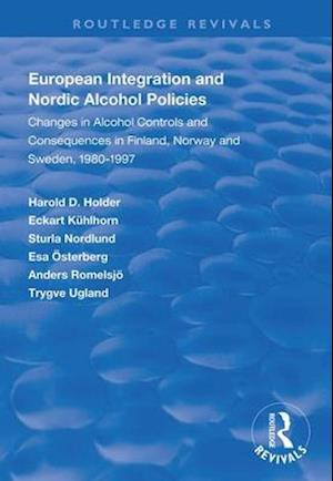 European Integration and Nordic Alcohol Policies