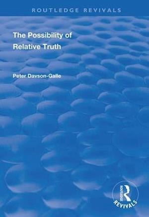 The Possibility of Relative Truth