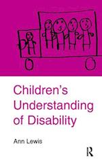 Children's Understanding of Disability