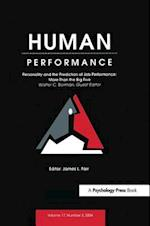 Personality and the Prediction of Job Performance