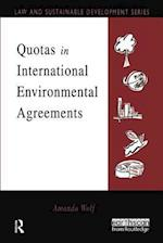 Quotas in International Environmental Agreements