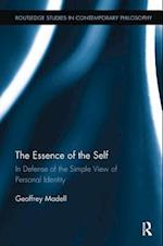 The Essence of the Self (Routledge Studies in Contemporary Philosophy)