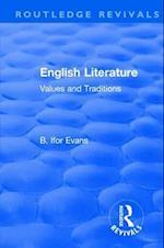 English Literature (1962) (Routledge Revivals)