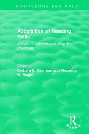 Acquisition of Reading Skills (1986)