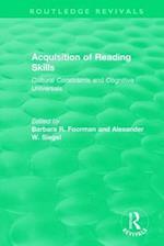Acquisition of Reading Skills (1986) af Barbara R. Foorman