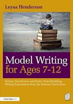 Model Writing for Ages 7-12