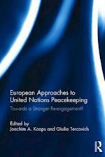 European Approaches to United Nations Peacekeeping