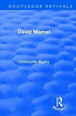 : David Mamet (1985) (Routledge Revivals)