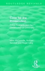 : Case for the Prosecution (1991) (Routledge Revivals)