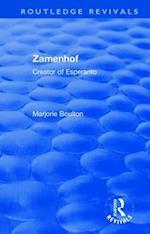: Zamenhof (1960) (Routledge Revivals)