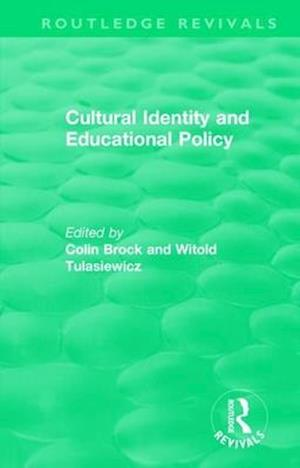 Cultural Identity and Educational Policy