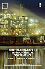 Decentralization in Environmental Governance