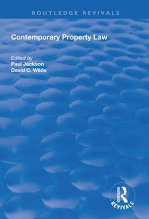 Contemporary Property Law