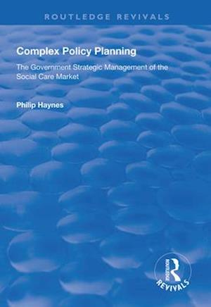 Complex Policy Planning
