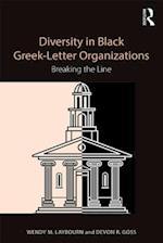 Diversity in Black Greek Letter Organizations