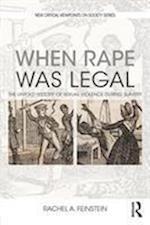 When Rape was Legal