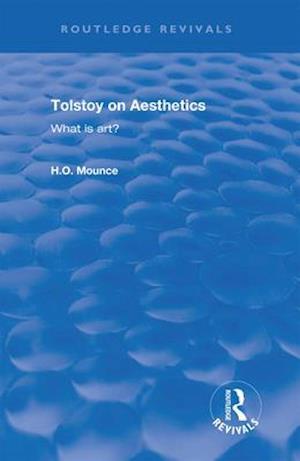 Tolstoy on Aesthetics