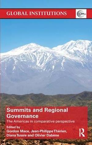 Bog, paperback Summits & Regional Governance af Gordon Mace