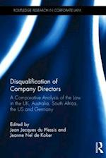 Disqualification of Company Directors (Routledge Research in Corporate Law)