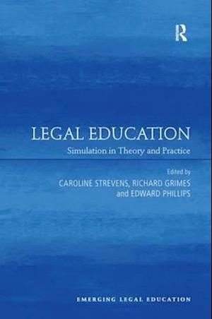 Bog, paperback Legal Education af Caroline Strevens