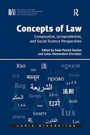 Bog, paperback Concepts of Law af Lukas Heckendorn Urscheler