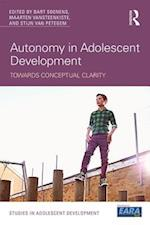 Autonomy in Adolescent Development (Studies in Adolescent Development)