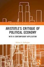 Aristotle's Critique of Political Economy