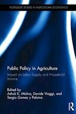 Public Policy in Agriculture (Routledge Studies in Agricultural Economics)