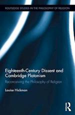Eighteenth-Century Dissent and Cambridge Platonism (Routledge Studies in the Philosophy of Religion)