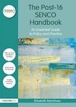 The Post-16 Senco Handbook (David Fulton / Nasen)