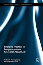 Emerging Practices in Intergovernmental Functional Assignment (Routledge Studies in Federalism and Decentralization)