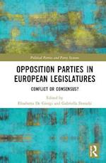 Opposition Parties in European Legislatures af Elisabetta De Giorgi