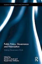 Public Policy, Governance and Polarization (Routledge Critical Studies in Public Management)