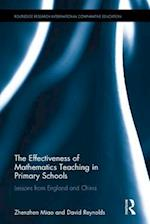 The Effectiveness of Mathematics Teaching in Primary Schools (Routledge Research in International and Comparative Education)