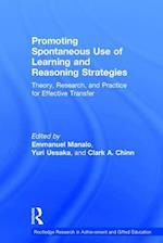 Promoting Spontaneous Use of Learning and Reasoning Strategies (Routledge Research in Achievement and Gifted Education)